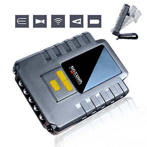 YAMI® 5 LED Ultraleicht Stirnlampe Cap Lampe USB Wiederaufladbar, 3 Modus Schaltregelung Infrarot-Sensor Scheinwerfer perfekt zum Nachtfischen, Laufen, Wandern, Camping (3W, inkl. USB Kabel)