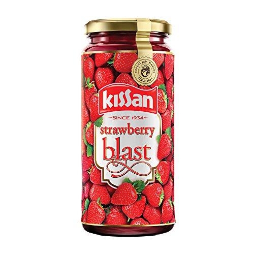 Kissan Strawberry Blast Jam, 320g