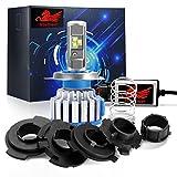 Universal 40W Motorrad LED Scheinwerfer Birnen-Win Power-LED Scheinwerfer Kit H6