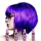 Crazy Color Pack De 4 Colorations Semi Permanente (Violette)