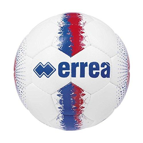 Errea pallone allenamento e partita modello mercurio 2.0 colore bianco azzurro rosso numero 5