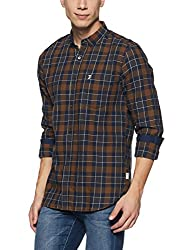 French Connection Mens Slim Fit Casual Shirt (52HKO_2881_XL)