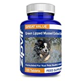 Green Lipped Mussel for Dogs | 500mg High Strength | 120 Tablets | Formulated for your dogs health & vitality