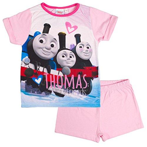 girls-thomas-the-tank-engine-short-pyjama-set-short-sleeve-top-shorts-shortie-kids-size-1-5-years