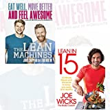Lean in 15 and The Lean Machines 2 Books Bundle Collection - 15 minute meals and workouts to keep you lean and healthy,Eat Well, Move Better and Feel Awesome
