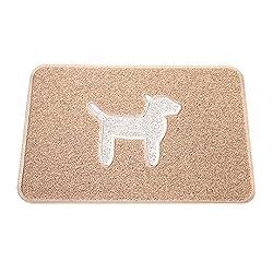 Smartcatcher Comfort Floor Mat Modern Dog Latte Cool White