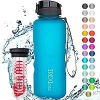 """720°DGREE Trinkflasche """"uberBottle"""" mit Früchtebehälter - 1,5 Liter - Deine Lifestyle Wasserflasche aus Tritan - Die..."""