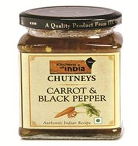 Kitchens Of India Carrot Blackpepper Chutney, 300g