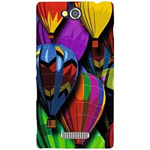Sony Xperia C Back Cover - Colorful Designer Cases