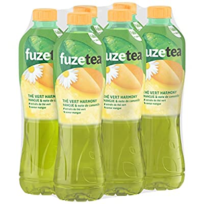 FUZE Tea Thé Vert Harmony Mangue/Note de Camomille 6 x 1,25 L