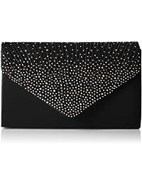 Swankyswans Abby Diamante Envelope Style Bag, Sac