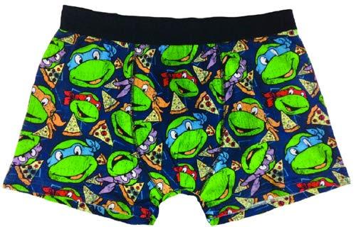 Turtles Boxershorts -M- Turtles/Pizza all over pri (Retro Ninja Turtles)