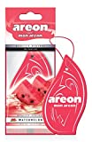 AREON Mon Auto Lufterfrischer Wassermelone Duft Autoduft Anhänger Hängend Aufhängen Spiegel (Watermelon Pack x 1)