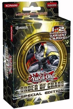 Konami KON24430 - Yu-Gi-Oh Order of Chaos Special Edition Display, 10 Stück -