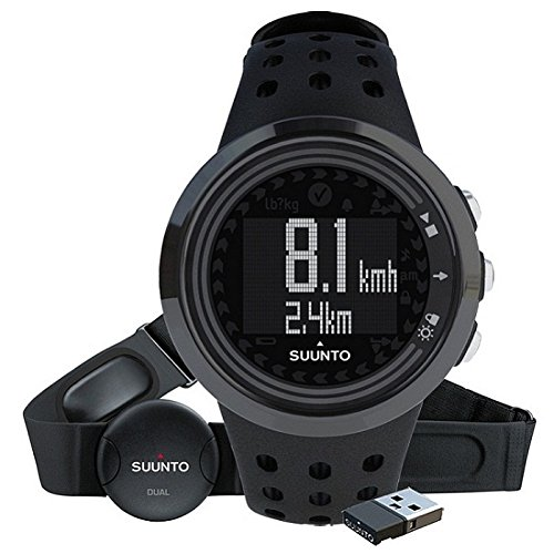 Suunto M5 MEN ALL PACK - Reloj hombre fitness, monitor frecuencia card