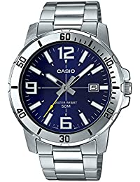 Casio Enticer Analog Blue Dial Men's Watch - MTP-VD01D-2BVUDF (A1363)