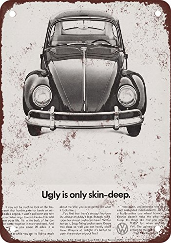 1966 Volkswagen Beetle vintage look Reproduction metal Sign