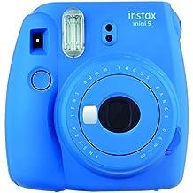 Fujifilm Instax Mini 9 - Cámara instantánea, Solo cámara, Azul Marino