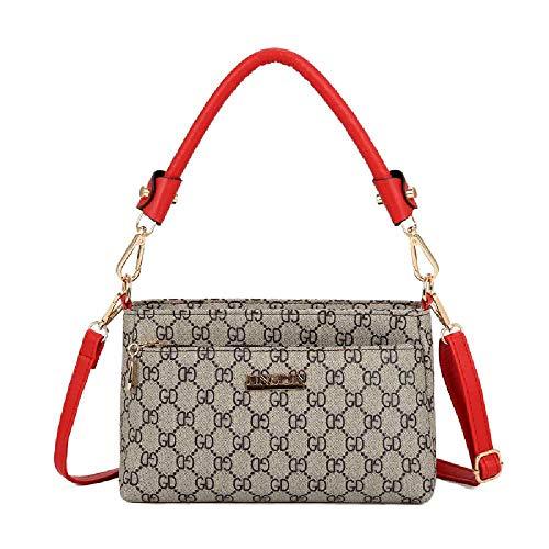 YDYDYD Eine Handtasche, eine Handtasche, eine Handtasche, eine Handtasche. 1960G rot