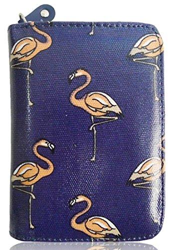 Kukubird Piccola Borsa Flamingo Con Il Sacchetto Di Polvere Di Kukubird Navy