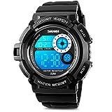 Digitale Herren-Armbanduhr, Sportuhr, elektronisch, LED, wasserdicht, Militär-Design, 50 - Best Reviews Guide
