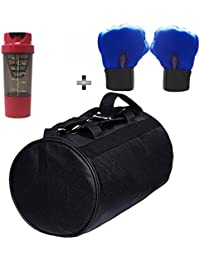 SOOPLE SPORTZ Gym Bag Combo Set Enclosed With Soft Leather Gym Bag For Men And Women For Fitness - Bag Size 49cm... - B07CSPBCLR
