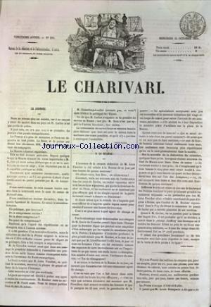 CHARIVARI (LE) [No 288] du 15/10/1851
