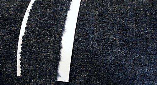 Wolltresse Einfaßband für Jacken dunkel blau Boucle 35 mm (Stricken Bouclé Jacke)