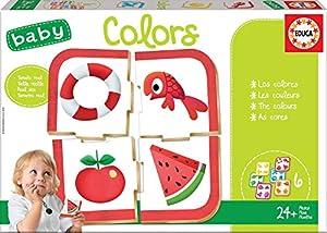 Educa Borrás- Baby Colors Puzzle, Color Variado (18119)