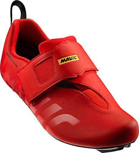 Mavic Cosmic Elite Tri Triathlon Rennrad Fahrrad Schuhe rot 2018: Größe: 46.5 (Fahrrad-schuh-cleats)