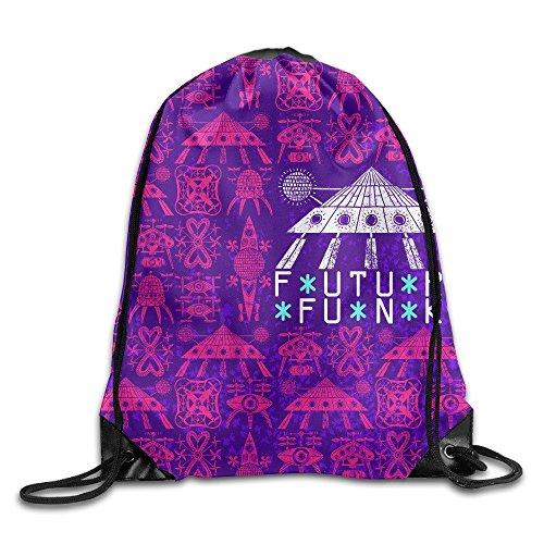 Lesif Funk Parade Kordelzug Tasche Rucksack Tunnelzug Tasche -
