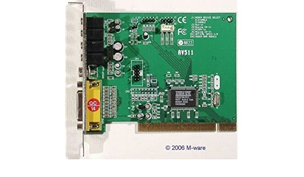AV511 SOUND CARD DOWNLOAD DRIVERS
