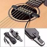 Akustik Gitarre Tonabnehmer Verstärker 12 Löcher mit Ton Lautstärkeregler CDXDSV