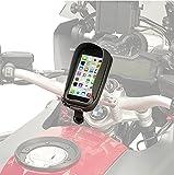 Porte smartphone universel S956B GIVI Compatible avec Apple iPhone 6, Samsung Galaxy A5