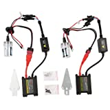 OSAN 55W H7 Xenon HID Conversion Kit Headlight Bulb,(8000K,2 Bulbs,2 Ballasts)