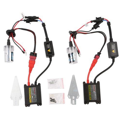 Kit accessori universale completo HID Xenon, AUTO HID XENON 9005/HB3, 55W, 8000K, BIANCO - PL805A