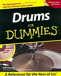 Drums For Dummies by Jeff Strong (2001-09-29)