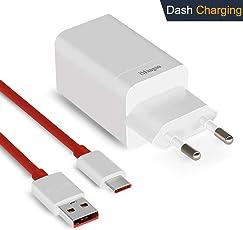 iMangoo OnePlus 5T Dash Ladegerät, Dash Netzteil [5V 4A] + OnePlus Dash Ladekabel 1M / 3.3FT USB C Schnelllade Datenkabel für OnePlus 6 5T 5 3T 3