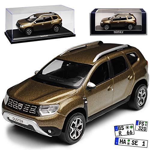 Norev Dacia Duster II Vision Braun Metallic SUV 2. Generation Ab 2018 1/43 Modell Auto (Modell Auto Duster)