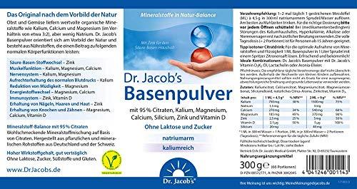 Dr. Jacobs Medical GmbH Basenpulver 300 g - 5