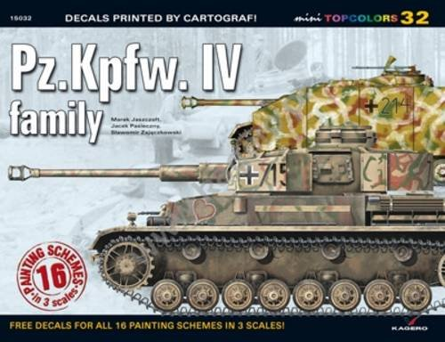 Pz.Kpfw. Iv Family: No. 32 (Mini Top Colors) por Slawomir Zajaczkowski