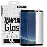 Samsung Galaxy S8 Plus Pellicola Protettiva, Danibos 3D Full Cover Glass Screen Protector Protettiva Corazzato Pellicola di Vetro Dello Schermo Temperato Curvo Vetro di Protezione Protector Hardglass Proteggi per Samsung Galaxy S8 Plus (Nero)