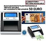 EasyCount Falschgeld- und Banknotenprüfgerät, batteriebetrieb, mit EZB-Zertifizierung