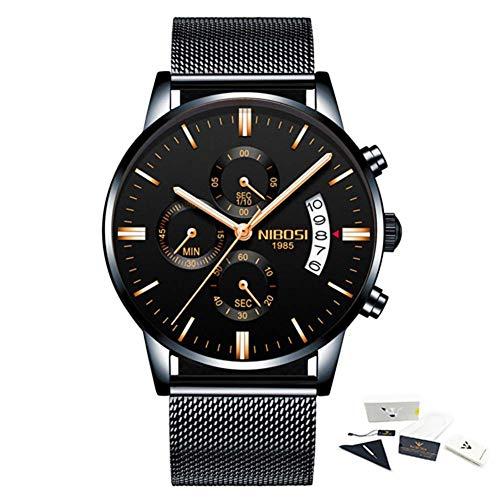 Luxus - Uhren der Marke männer Mode Sport militärische Quarz auf männer voller Stahl - Mann