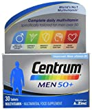 CENTRUM ADVANCE 50 Plus Multivitamin Tablets for Men, Pack of 30