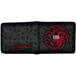 Game Of Thrones Juego de Tronos ABYBAG213 Cartera de Casa de Targaryen Fuego y Sangre