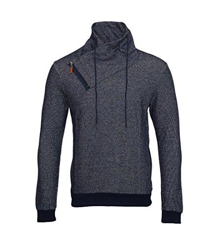 Pablo Malone by Poolman Jacke Sweater Longsleeve Pullover JH1402 106 navy HW16 Größe L