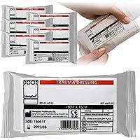6x Steroplast Sterile FFD Field Trauma Fast Action Bleeding Wundkompresse, 15cm x 18cm preisvergleich bei billige-tabletten.eu