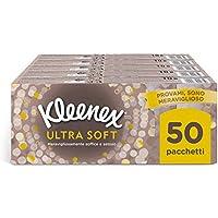 Kleenex Ultra Soft Fazzoletti, Soffici e Setosi, 50 Pacchetti