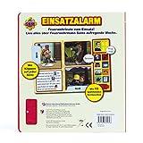 Feuerwehrmann Sam - Einsatzalarm - Klappen-Geräusche-Buch für Feuerwehrmann Sam - Einsatzalarm - Klappen-Geräusche-Buch